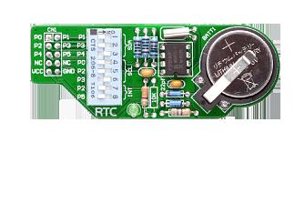 RTC Module PCF8583 Real Time Clock Calendar Alarm
